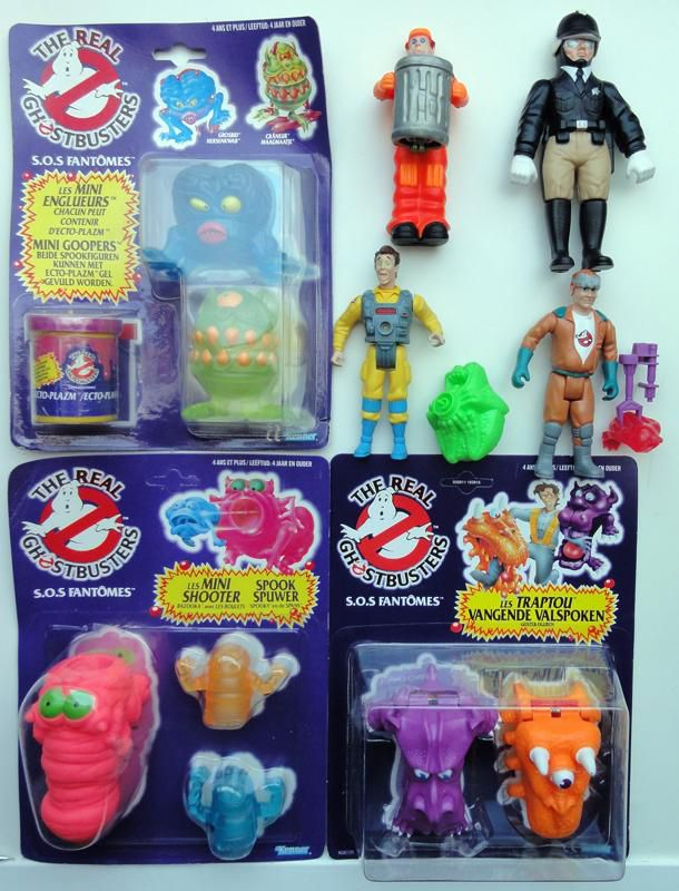 THE REAL GHOSTBUSTERS KENNER ARRIVAGE