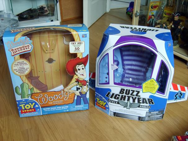 TOY STORY COLLECTION BUZZ & WOODY BOXES