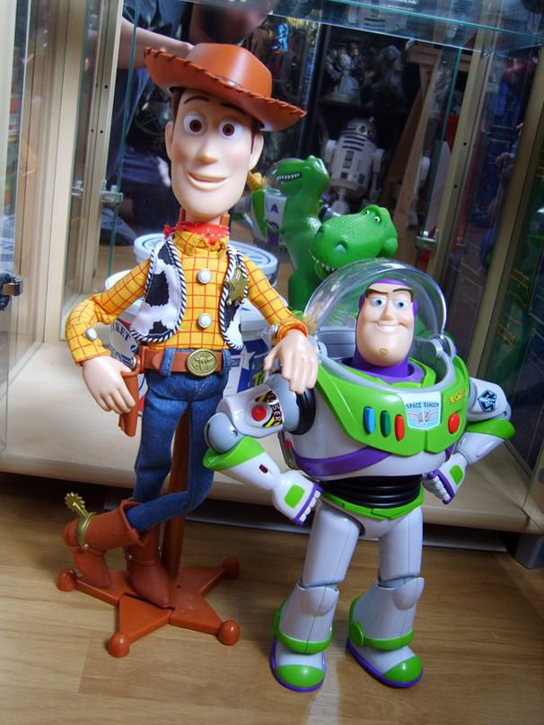 toy story collection woody buzz la plan te effermoss. Black Bedroom Furniture Sets. Home Design Ideas