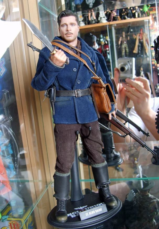 HOT TOYS ALDO INGLORIOUS BASTERDS 1