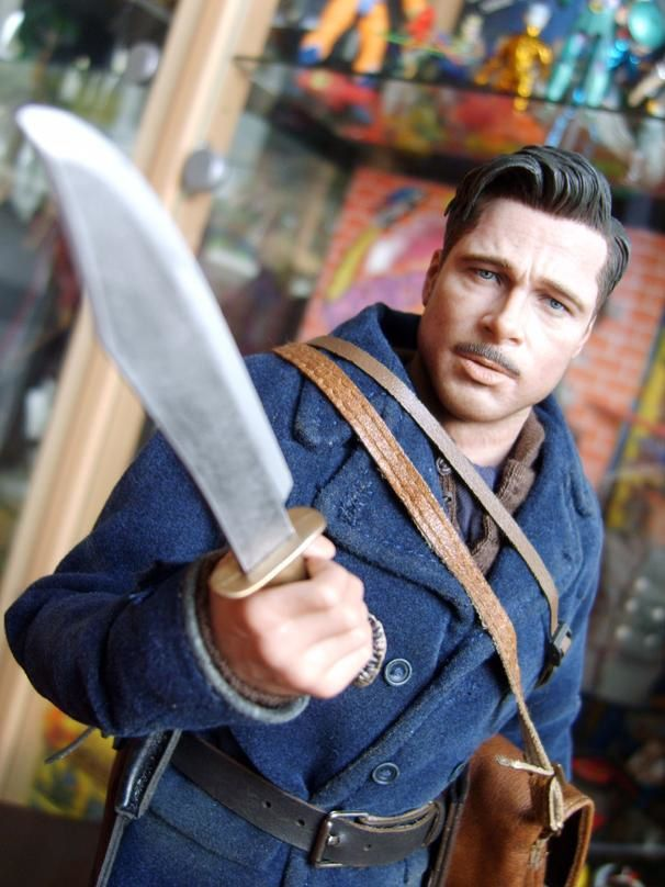 HOT TOYS ALDO INGLORIOUS BASTERDS 3