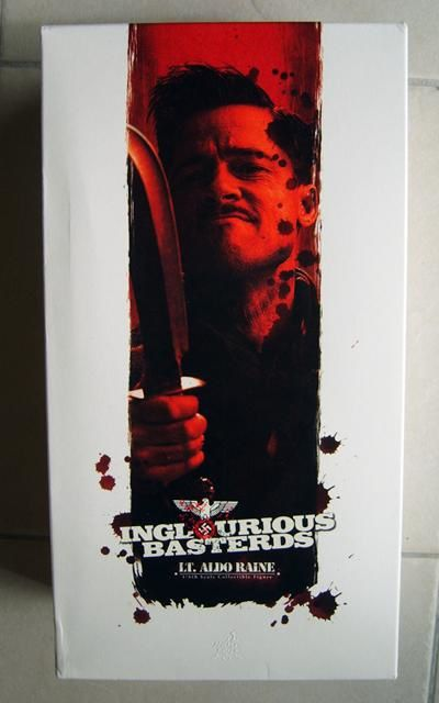 HOT TOYS ALDO INGLORIOUS BASTERDS BOX 1