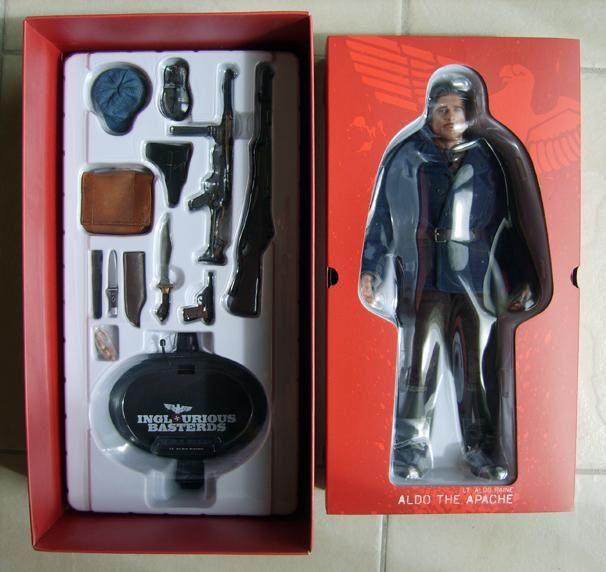HOT TOYS ALDO INGLORIOUS BASTERDS BOX 2