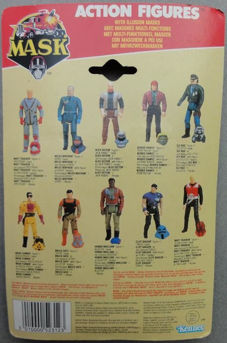 MASK PACK PERSOS KENNER 2