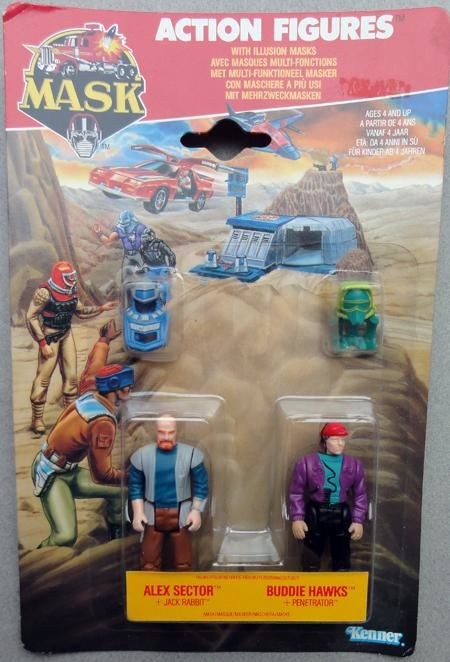 MASK PACK PERSOS KENNER