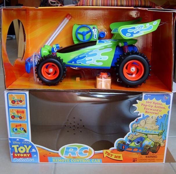 TOY STORY COLLECTION RC REMOTE CONTROL