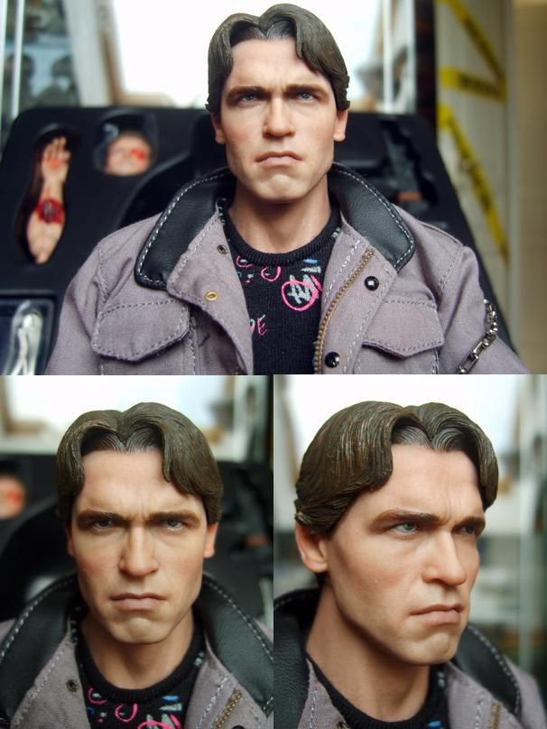HOT TOYS T-800 TERMINATOR HEADSCULPTS