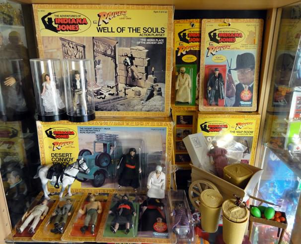 INDIANA JONES COLLECTION KENNER
