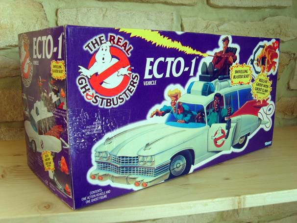 KENNER ECTO 1 REAL GHOSTBUSTERS BOX