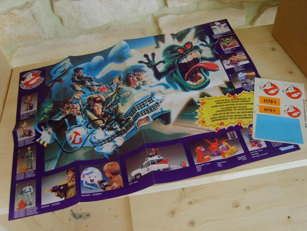 KENNER ECTO 1 REAL GHOSTBUSTERS SHEETS