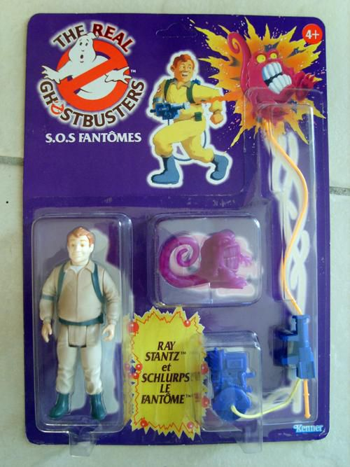 THE REAL GHOSTBUSTERS RAY STANZ MIB KENNER