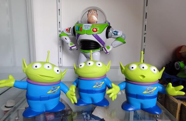 toy story collection space aliens