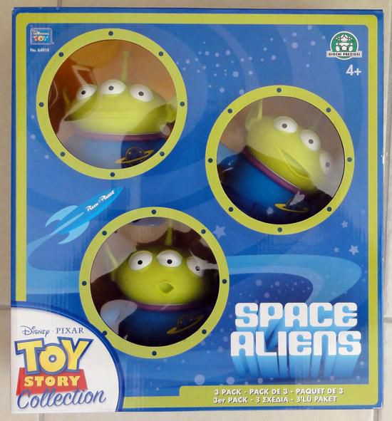 toy story collection space aliens box