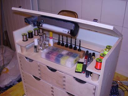 Caisse de montage portative mes p r grinations de moucheur - Petite caisse a outil ...