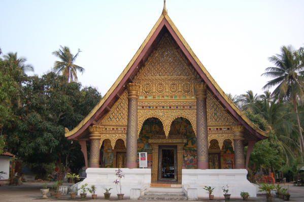 Un des nombreux temples de Luang Prabang