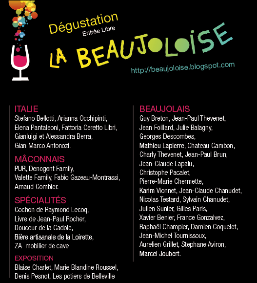 beaujoloise 2011 site listing