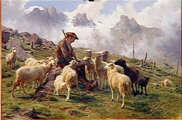 Hommages-Peinture-berger-de-Pyrenees
