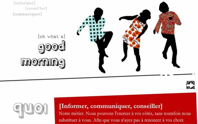 Agence good morning website (Small)