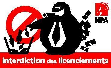 interdiction licenciements