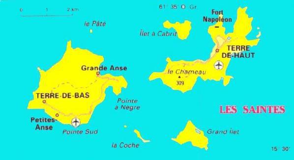 Les Saintes   Guadeloupe   12 19 juin 2006   En montagne