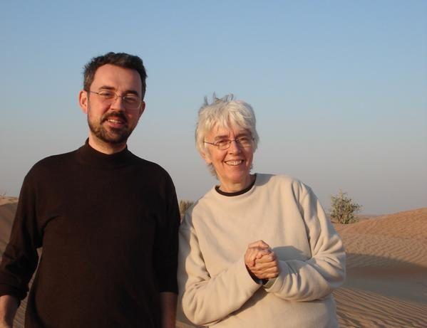 rémi et élisabeth dans le désert