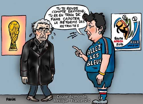sarkozy france football mondial 1