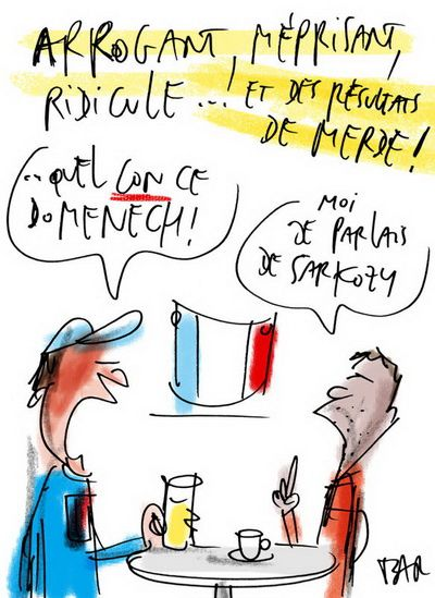 sarkozy france football mondial 7
