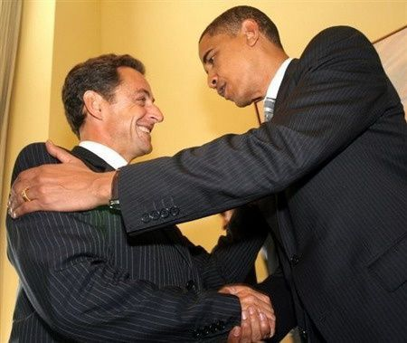 sarkozy obama amerique usa france