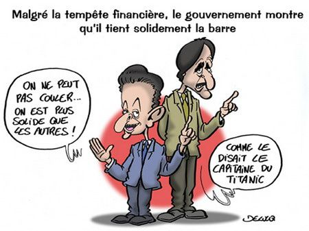 sarkozy recession onu yatch G8 g4 incompetent sarkostique fillon gouvernement