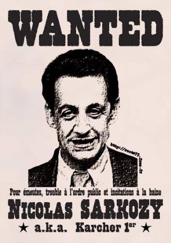 sarkozy wanted