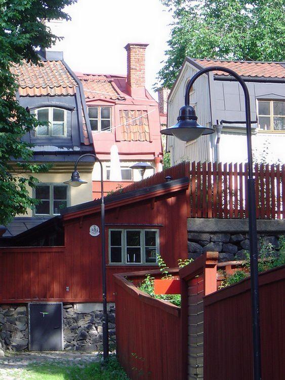 Stockholm, des façades colorées