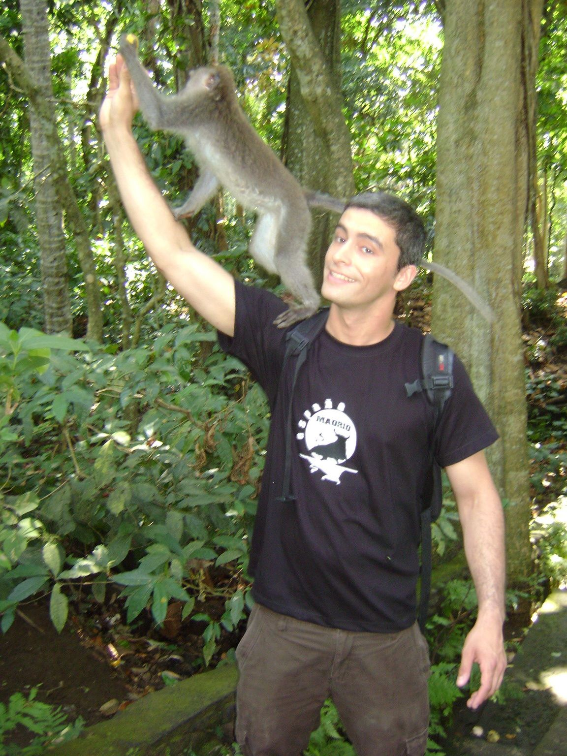 Me and the monkey