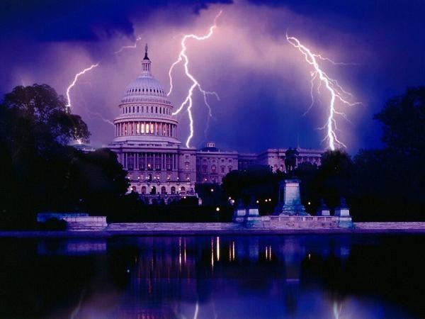 De l'orage dans l'air...