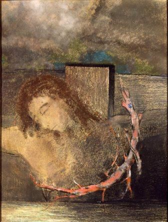Odilon Redon, Le Christ crucifié
