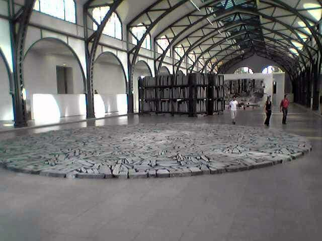 "Le ""Cercle de Berlin"" ""Berlin circle"" de Richard Long"