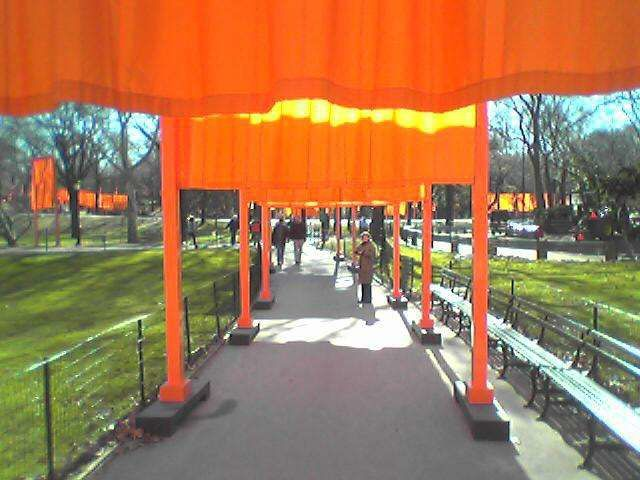 """THE GATES"" février 2005 Central Parrk NY"