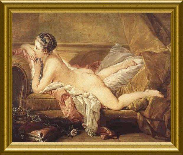 Boucher Blonde odalisque