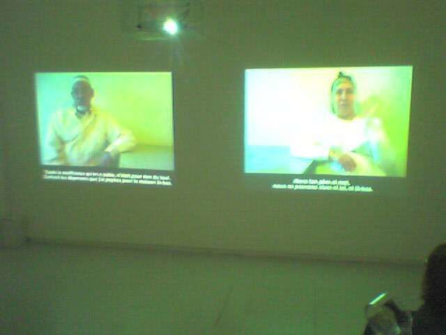 "Zineb Sedira ""Father, Mother and I"" AFRICA REMIX Centre Pompidou"