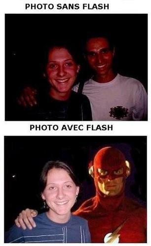 photo avec flash photo sans flash