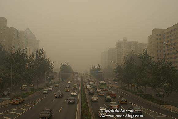 pollution pekin chine