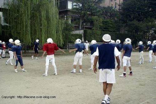football americain japon