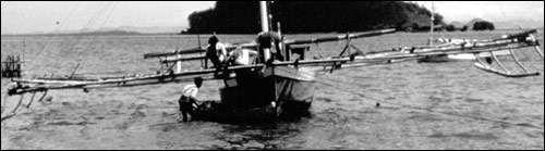 bateau à balanciers