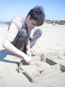 Étienne sur la plage