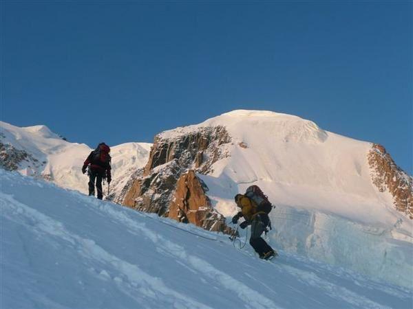 Alpinisme : traversée des pointes Lachenal photos duillaume ledoux apoutsiak
