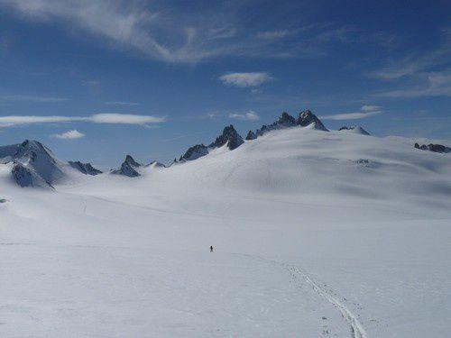 Aiguilles du Tour glacier du Trient