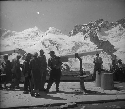 Monts Roses 1955 castor et Pollux Gornergratt