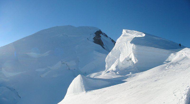 Mont Blanc - arête des Bosses - photo guillaume Ledoux 5 sept 2005