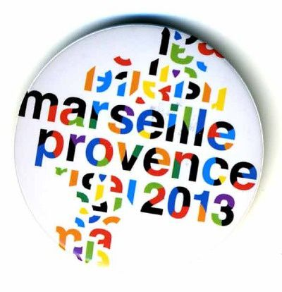 logo marseille provence 2013 badge 987