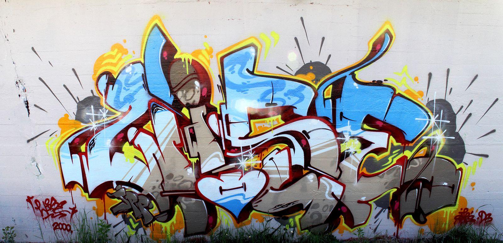 Streetart - Art de la rue - Graffitis -      clic sur l'image = Zoom + défilement...