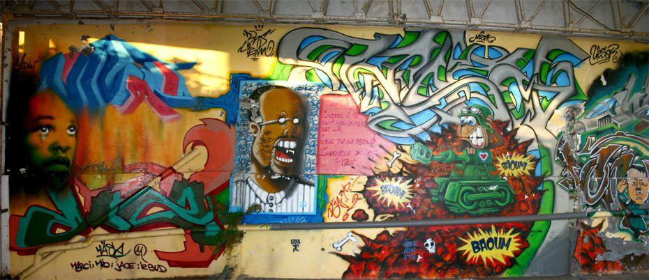 <p>Il s'agit de présenter ici en un seul album une compil de tous mes articles parus dans la catégorie Graffitis et tags (à peu près une trentaine). </p><p>Pour en savoir plus, allez jeter un coup dans celle-ci... vous y verrez surement plus de